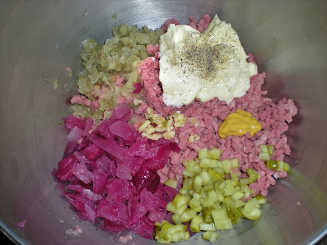 Ham Salad - Add All Ingredients - Taylor-Made Ranch