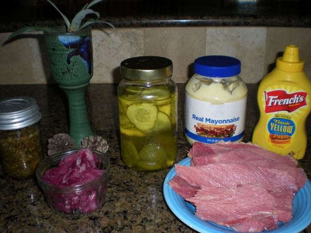 Ham Salad Ingredients - Taylor-Made Ranch
