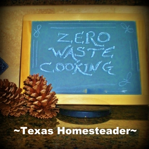 The USDA estimates that between 30% and 40% of our food ends up in landfills. See our easy tips on eliminating wasted and leftover food. #TexasHomesteader