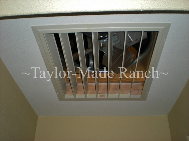 Environmentally Friendly Cooling Whole House Fan