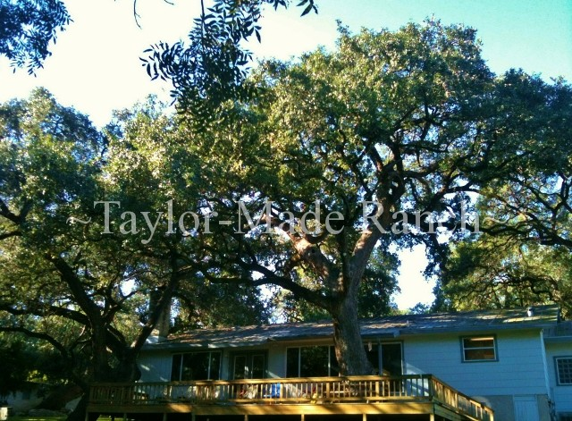 New Braunfels House Deck #TaylorMadeRanch
