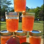 Pear Preserves. We have lots of great jelly recipes on our site, some don't even require added pectin. Come see our easy recipes! #TexasHomesteader