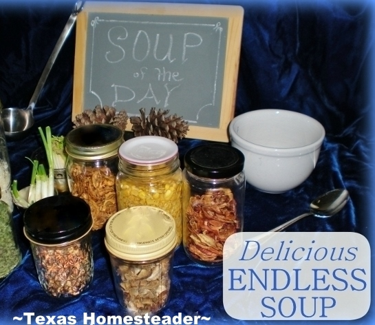 I love a hearty meat/veggie soup, this endless soup fits the bill quite nicely, is cheap, healthy & keeps us in soup lunches for a week #TexasHomesteader