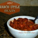 Ranch-Style Beans. Are you hosting your family's holiday celebration this year? I'm sharing my favorite holiday cooking tips & quick & easy recipes. #TexasHomesteader