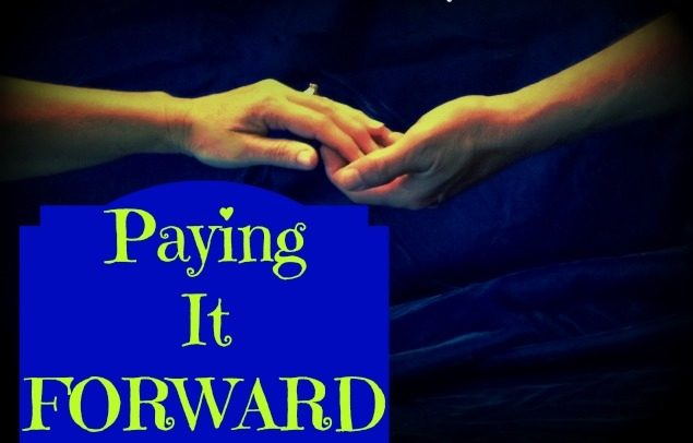 Paying it forward In Real Life.  Many People want to Pay It Forward but don't know what to do. There are many day-to-day opportunities in REAL LIFE to do something great! #TaylorMadeHomestead