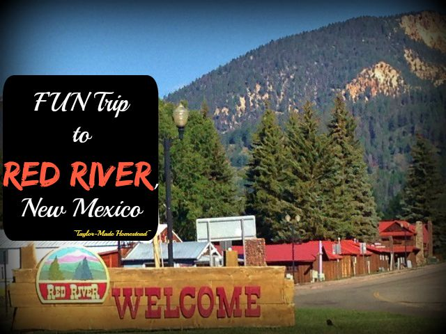 Red River, NM is probably best known for its ski facilities but I much prefer to visit in the summer, it's absolutely beautiful! Check out the FUN! #TaylorMadeHomestead