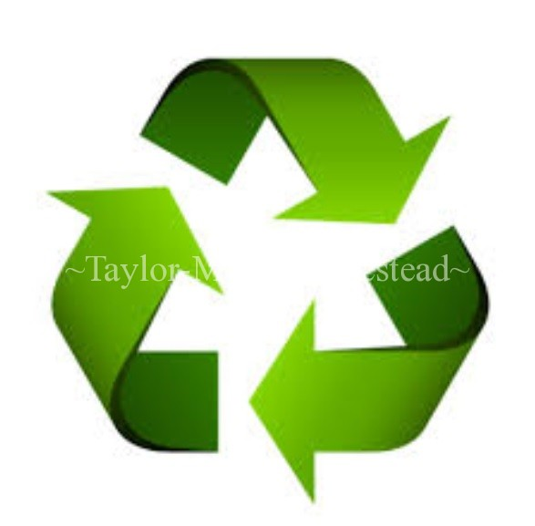 PRE-Cycling! Recycling may not be enough - there's a better (and very easy) way to do much more by being focused on PRE-cycling #TaylorMadeRanch