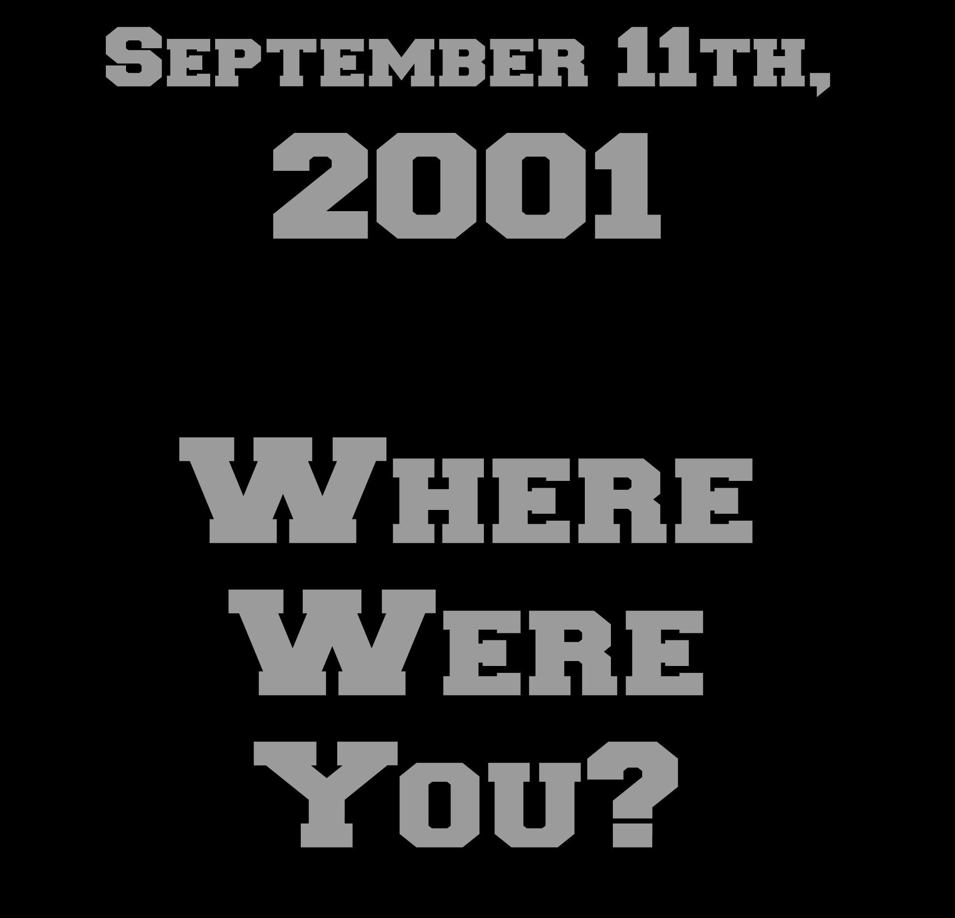 September 11th, 2001. Little did I know this day would change my life and the lives of all my fellow Americans forever! Where were you? #TxHomesteader
