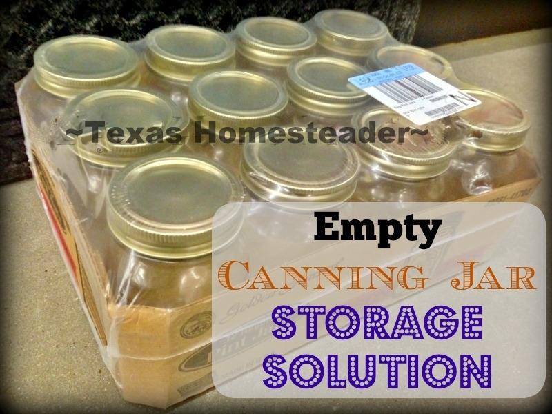 New Canning Jars Are Now Sold In Half Boxes Shrink Wrapped In Plastic, I