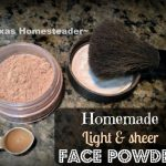 Homemade Makeup. Top 10 Homesteading Posts of 2016 - Saving money, Homemade Soap Recipes, DIY Face Powder, Canning Jar Storage Solution & MORE! #TexasHomesteader