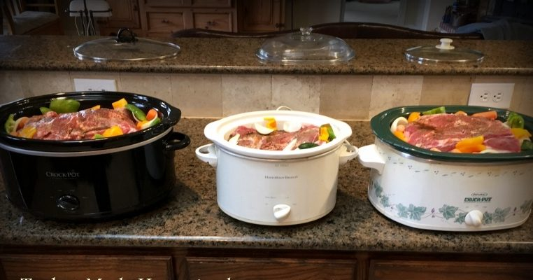 I like to cook with planned leftovers in mind. Recently I cooked up a huge pork roast in a slow cooker. See what I have planned. #TxHomesteader