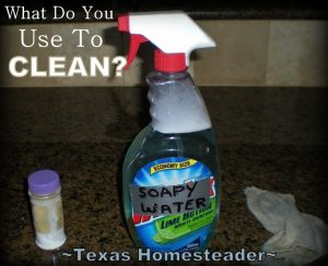 Why have we complicated cleaning? Here are a few cleaning techniques at our Homestead that grandma would surely approve of. #TexasHomesteader