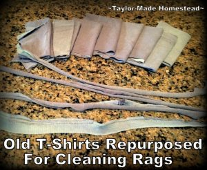 "Did you ever stop and wonder ""How would grandma do this?"" Oh yeah, grandma was the queen of ""Use Whatcha Got""! She got by fine without plastic & disposables. #TaylorMadeHomestead"