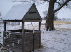 01-13 Cistern Snow