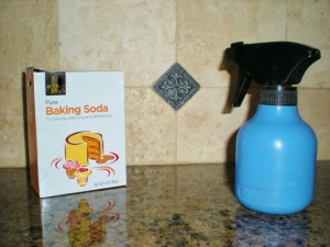 Baking Soda and Vinegar - Natural Cleaners. There are many easy ways to make do with what you have, keeping you out of the stores. Good for the environment, good for your wallet! #TexasHomesteader