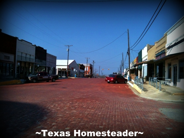 We love our small-town living. Some of the best people we've ever met in our lives, we met right here in our own little Texas town! #TexasHomesteader