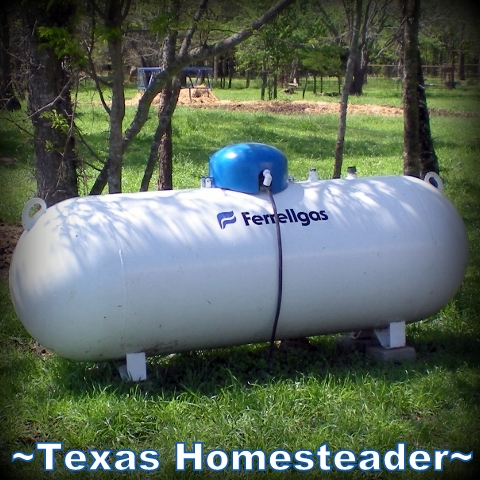 There are many ways to save money and the environment. Read about our energy conservation ideas when using propane and natural gas. #TexasHomesteader
