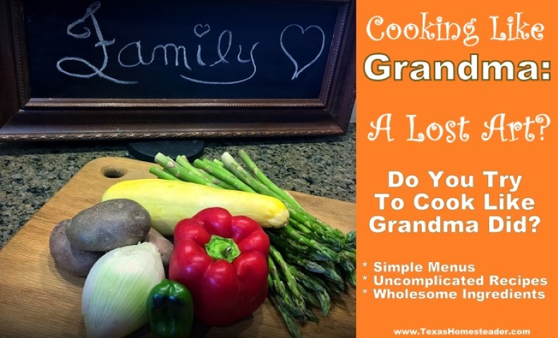 Chalkboard and fresh vegetables from the garden - FAMILY