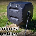 Compost Tumbler. Ninja Blender. An extensive list of homesteading tools for more productive self-sufficiency. I'm sharing my faves for kitchen, garden and farm/ranch. Come see! #TexasHomesteader