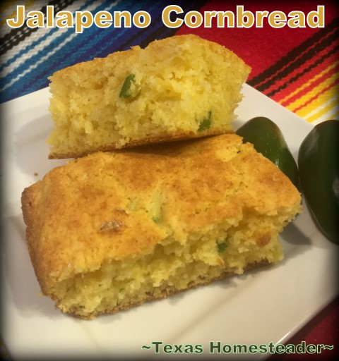 Enjoy a bowl of pintos with jalapeno cornbread. It's super easy to cook Instant Pot Pinto Beans. And I often cook a whole bag. You'd be surprised at the many ways to serve them. #TexasHomesteader