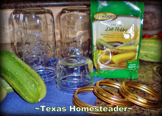 We love dill pickles but I've never been happy making my own brine. I've found the secret weapon - a SUPER EASY brine. Check it out. #TexasHomesteader