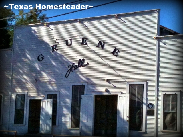 Gruene Hall. We were finally able to get away for a long weekend with my siblings. We thoroughly loved our time in New Braunfels, Texas! #TexasHomesteader