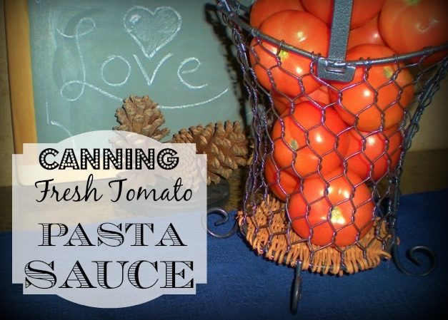 Now that I had made all this tomato sauce from my fresh tomatoes, I decided to make & can my own pasta sauce! Check out how easy it is! #TexasHomesteader