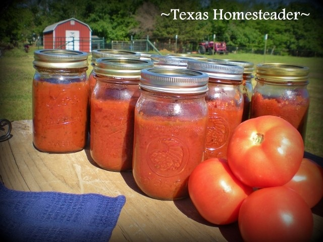 Homemade pasta and sauce. Here's a list of homemade Christmas gift ideas. Don't wait - get started NOW for a homemade Christmas you and your family will LOVE! #TexasHomesteader