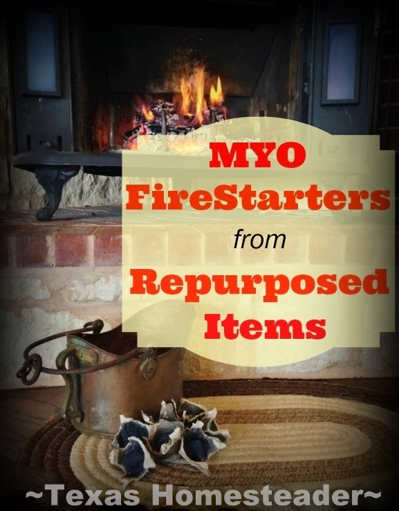 Check out these easy FIRE STARTERS I made in just a few minutes using dryer lint & melted wax. I show everything step by step. #TexasHomesteader