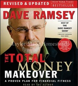 HOME FINANCE - WHAT WORKS FOR OTHERS and how those steps might actually work for you too. Here are the home finance favorites in my own bookshelf. Dave Ramsey Total Money Makeover #TexasHomesteader