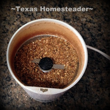Coffee grinder that I use often needed a new replacement nut. The repair cost only $6 instead of $70 to buy a new one. #TexasHomesteader