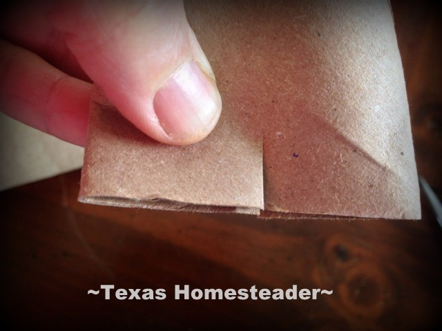 I'm using repurposed cardboard to make free seed-starting pots. #TexasHomesteader