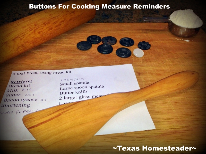 "I'd often stop and ask myself ""Was that 4 cups or 5 that I just dumped into the bowl?"" But NO MORE! Check out this Homestead Hack. #TexasHomesteader"
