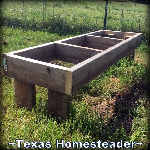 Beehive platform. We've never kept bees before so we're NewBees to beekeeping! There's a lot to do before we actually receive any bees, come see how we prepared. #TexasHomesteader