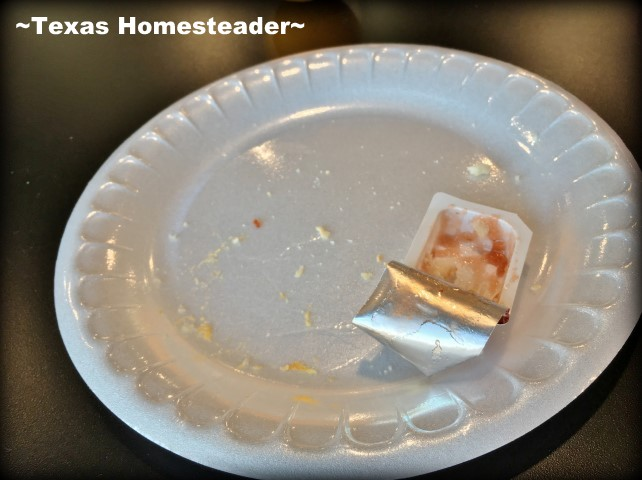 Less Dining Trash. I've found some simple solutions to the use-once, throw-away disposables when eating out. Come see what I did! #TexasHomesteader