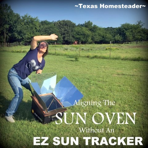 Solar Oven Sun Tracker Cube. I used my solar oven to make a delicious Cheesy Chile Chicken Casserole, but you could bake it in a regular oven too. #TexasHomesteader