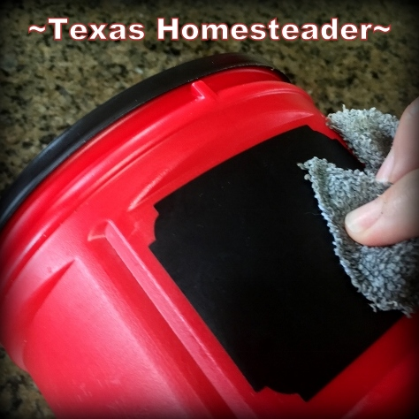 I'm always repurposing those empty coffee canisters. But this time I've made an oh-so-cute country bread box. Love it! #TexasHomesteader