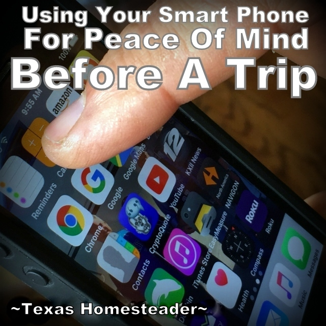 "We don't travel often but every time we do I feel that familiar ""what did we forget"" dread. But no more! Check out this homestead hack. #TexasHomesteader"