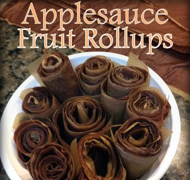 In preserving all the fresh apples my aunt shared with us, I decided to make fruit leather roll ups. It was easy! #TexasHomesteader