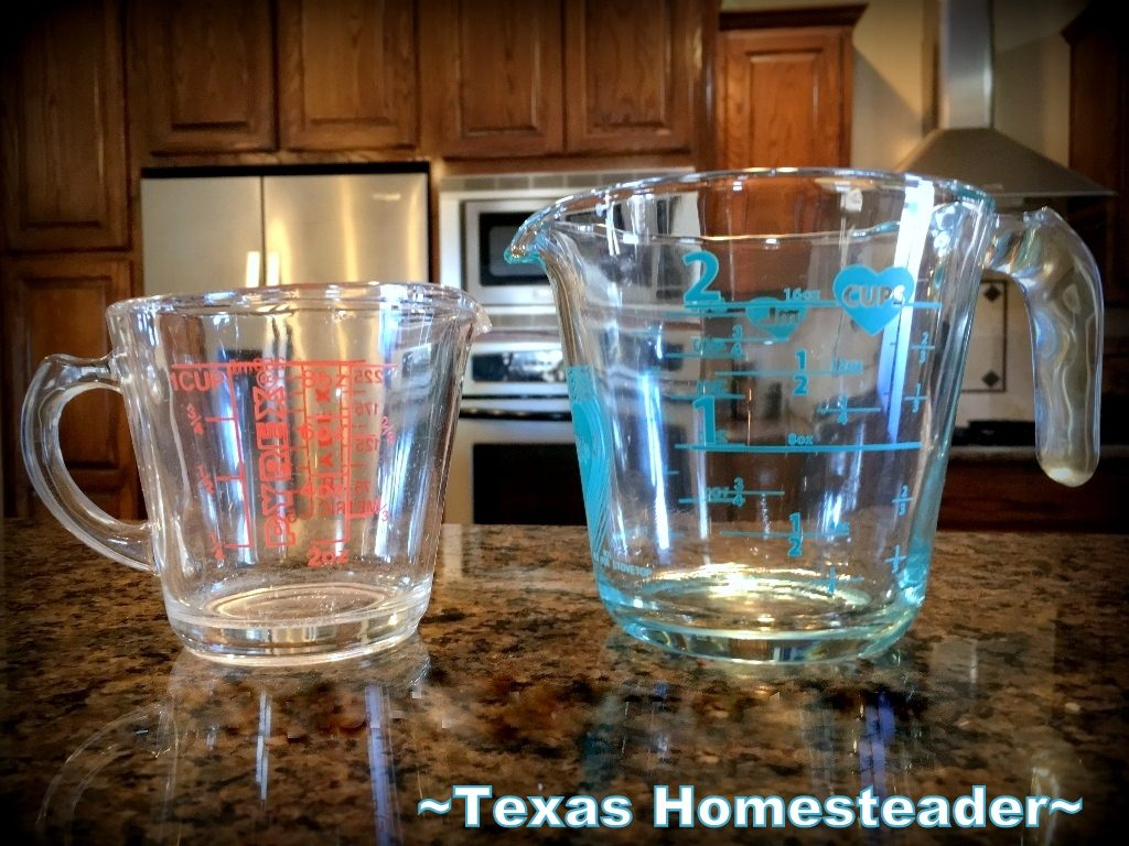 I'm reviewing the new Pyrex easy-to-read measurements measuring cup. It's a helpful kitchen tool but is it all it's cracked up to be? Come see #TexasHomesteader