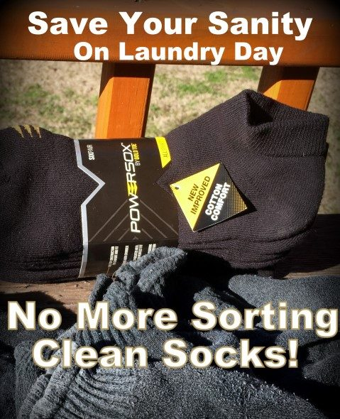 Do you hate sorting socks? Me too! I've found an easy way to eliminate that bag of mis-matched socks & streamline sorting socks on laundry day. #TexasHomesteader