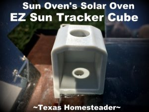 EZ Sun Tracker Cube for Solar Oven. Solar-Cooking Eggs. I'm hearing that you can BAKE your eggs instead of boiling them. I decided to give it a try in my solar oven. Check it out. #TexasHomesteader