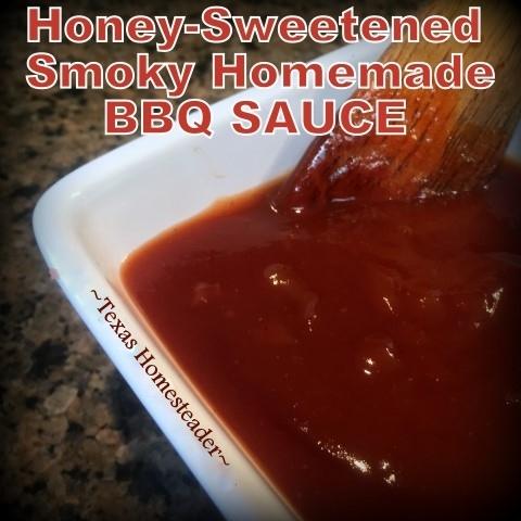 Honey-Sweetened Homemade BBQ Sauce