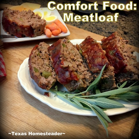 I'm cooking up our favorite comfort food - meatloaf! I'm using my solar oven to cook it but the recipe includes standard oven directions too #TexasHomesteader