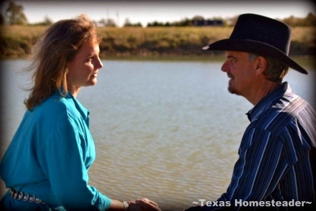 VALENTINES DAY: MEANINGFUL BUT NOT EXPENSIVE! See how RancherMan & I celebrate this special day to keep it special without the expense. #TexasHomesteader