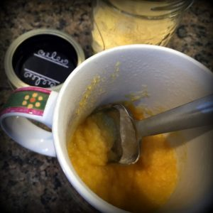 Rehydrating Pumpkin Puree. Come see how to rehydrate and use dehydrated pumpkin puree. Dehydrated Pumpkin puree stores in the pantry with no additional energy needed - a wonderful preparedness food! #TexasHomesteader