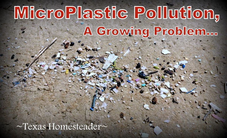 MicroPlastic pollution on the beach. Make time to spend with family! Life's short and there's no promise of tomorrow. Recently we spent family time at Surfside Beach, Texas. #TexasHomesteader