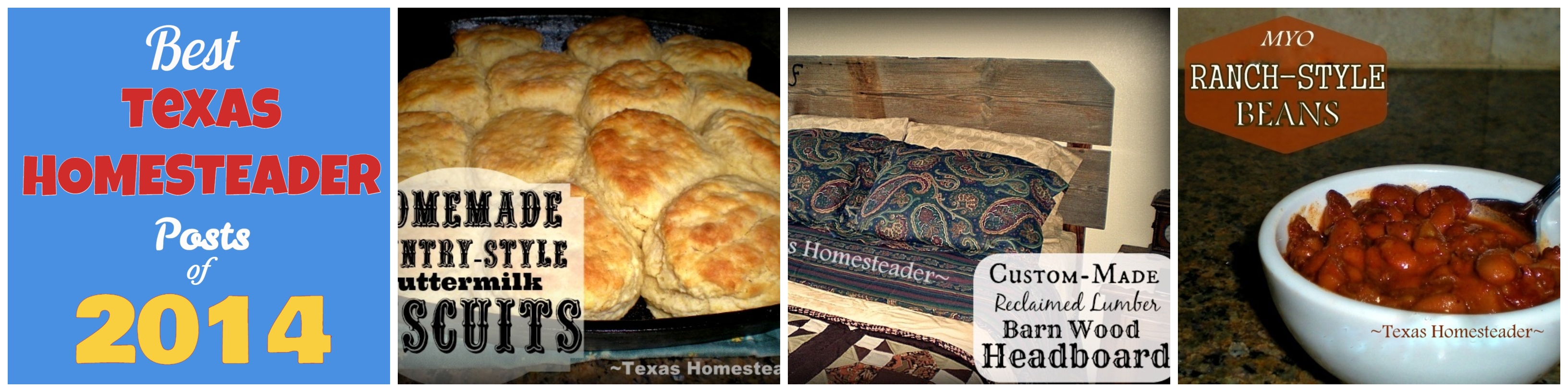 Here are the Top 10 Homesteading Posts on our page since 2013.This is the yearly roundup version - all the year's top 10 in one place! #TexasHomesteader
