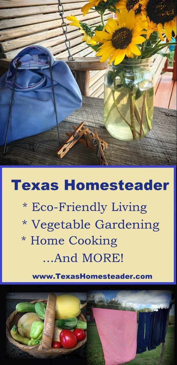 I love writing about our lives on our NE Texas Homestead. My hope is to inspire others also on a simple path, won't you follow along? #TexasHomesteader