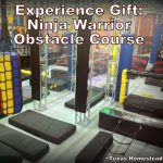 Ninja Warrior Course. We opted for an experience gifts over toys for our grandchildren at Christmas. Come see examples of the fun times we've spent with them. #TexasHomesteader